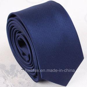 Top Quality Men′s Plain Color Silk Necktie (HWN02) pictures & photos
