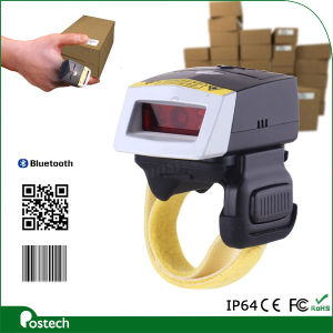 GS Wearable Barcode Terminal with Built-in Battery, Smart PRO 2D Laser Bluetooth Barcode Scanner Ring for Android Phone pictures & photos