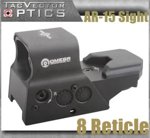 Vector Optics Omega Ar15 Ak47 Tactical Reflex 8 Reticle Red DOT Sight Scope Us Design pictures & photos