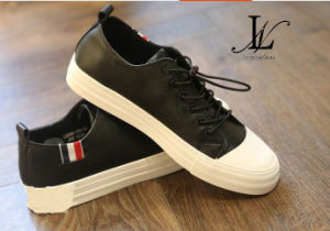 Fashion Leather Men′s Shoes for Casual and Sports (CAS-048) pictures & photos