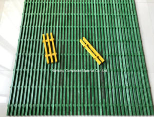 FRP Pultruded Grating/Pultruded Fiberglass Grating/GRP Grating/I Type, T Type pictures & photos