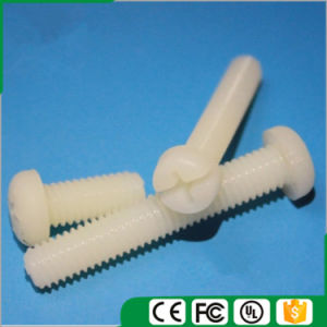 Nylon Round Pan Head Screw, Cross Nylon Pan Head Screw, Nylon Pan Head Screw (M2-M6) pictures & photos