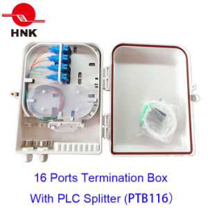 FTTH 16 Fibers Optical Fibertermination Box for Sc/LC Adapters pictures & photos