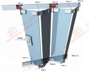 High Quality Aluminum Bi-Folding Glass Window (BHA-FW07) pictures & photos