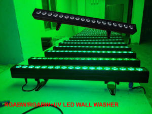 Indoor Color Change 5in1 Rgabw 18PCS Line Wash Party Light