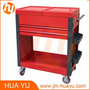 Mobile Sheet Metal Tool Chest with Sliding Cover/Drawer/Open Tray pictures & photos