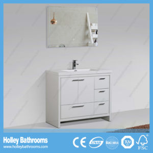 Hot Sale MDF Floor Mounted Bathroom Cabinet with 4 Drawers and 2 Doors (BF343D) pictures & photos