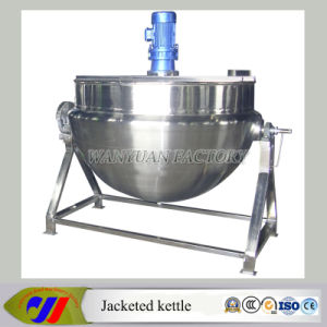 Elevated Steam Heating Jacketed Kettle pictures & photos