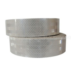 Direct Manufacturer Long White Reflective Tape Pet pictures & photos
