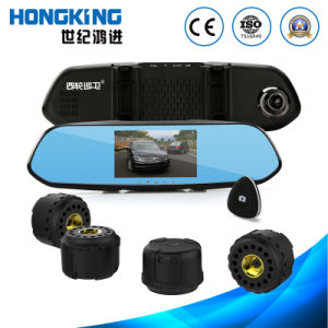Car DVR Tyre Gauges, Car Blackbox Function with External Tire Sensor pictures & photos