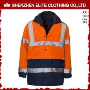 Wholesale Orange Reflective Hi Vis Workwear Jacket (ELTSJI-2) pictures & photos