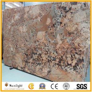 Brazilian Golden Persa Granite Slabs for Tiles/Countertops&Vanity Tops pictures & photos