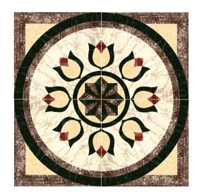 Flower Pattern Carpet Tile Polished Crystal Ceramic Floor Tile 1200X1200mm (BMP46) pictures & photos