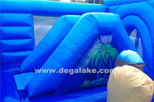 Inflatable Pirate Cove Bouncy Slide Combo, Jumping Bouncer pictures & photos