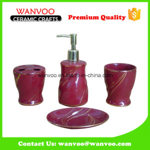 China Popular New Elegant Bath Accessory Set on Ceramic material for Hotel pictures & photos