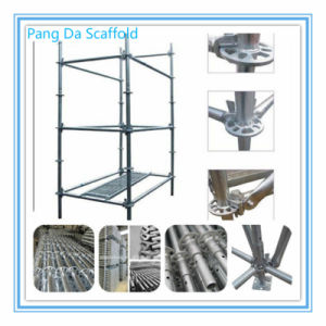 Q345 Q235A B 3.2-3.25mm Thickness Ringlock Scaffold pictures & photos