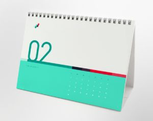Offset Printing Customized Stationery Desk Calendar pictures & photos
