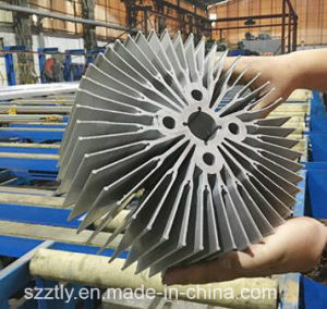 6082 /6063/6061 Aluminium Extrusion Heatsink pictures & photos