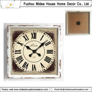 Shabby Chic Square Wall Clock pictures & photos