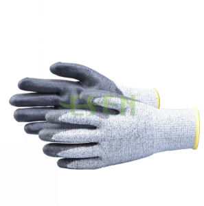 2017 Soft Nitrile Coated Cut Protective Safety Work Glove pictures & photos
