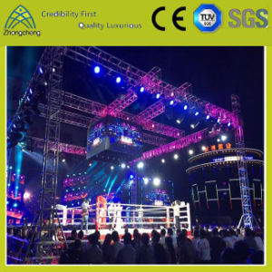 Truss System Design Professional Aluminum Lighting Stage Spigot Truss pictures & photos