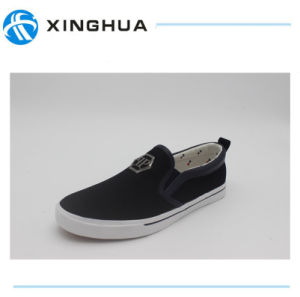 2017 New Arriving Men′s Casual Canvas Shoes pictures & photos