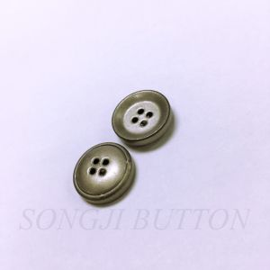Fashion Accessories 4 Hole Brass Button pictures & photos