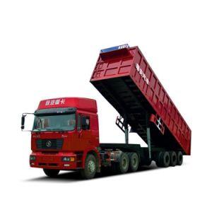 Cheng Li Special Dump Tipper Dumper Self Discharging Truck pictures & photos