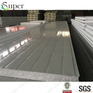 Steel Sheet Fireproof Building Material EPS Sandwich Panel pictures & photos