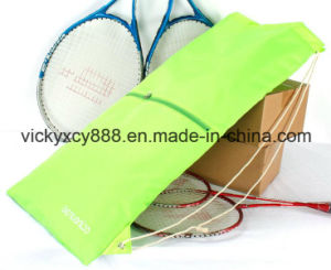 Outdoor Sports Tennis Badminton Racquet Racket Drawstring Backpack Bag (CY3599) pictures & photos