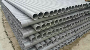 Electric Wire Installation PVC-U Pipe pictures & photos