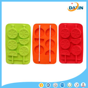 Lemon Shape Food-Grade Silicone Ice Cream Mould pictures & photos