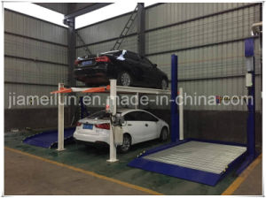 2 Cars Hydraulic Stack Parking Lift pictures & photos