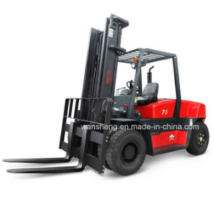 Most Popular Model 7 Ton Diesel Forklift / 7000kg Forklift Truck pictures & photos