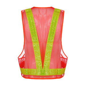 Traffic Safety LED Reflective Vest pictures & photos