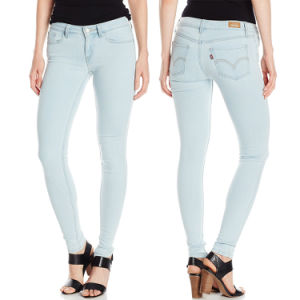 Factory OEM Women 2017 Spring Fashion Denim Jeans Skinny Pants pictures & photos