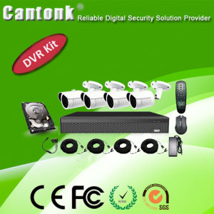 Outdoor 4CH 1080P CCTV Ahd DVR Kit with HD (XVRD420CPB10) pictures & photos