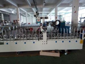 MDF Board Woodworking TUV Certificated Mingde Brand Wrapping Machine pictures & photos