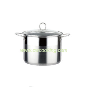 Stainless Steel Stock Pot - Straight Shape, Wire Handle pictures & photos
