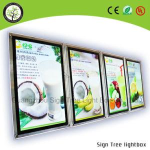 Ce, RoHS, Acrylic Crystal LED Slim Light Box pictures & photos