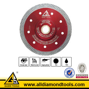 X Turbo Diamond Saw Blade for Cutting Porcelain and Granite pictures & photos