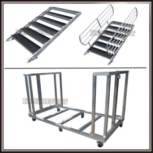 Portable Outdoor Concert Stage Aluminum with Stair pictures & photos