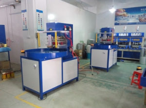 5kw Auto-Turntable Three Working Stations Blister Packing Machine/Sealing Machine pictures & photos