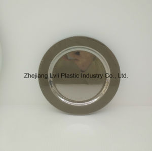 Plastic Plate, Disposable, Tableware, Tray, Dish, PS, SGS, Silver, PA-03 pictures & photos