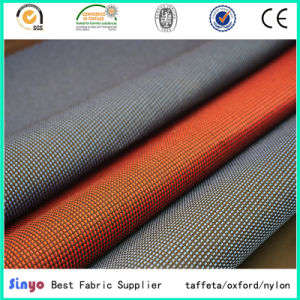 100% Polyester Oxford 600d Two Tone /Duo Tone Fabric for Bags in Two Colors pictures & photos