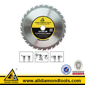 Brazed Tct Ripping Saw Blade with Anti-Kick Design pictures & photos
