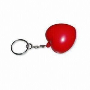 PU Antistress Red Heart Keychain Toy pictures & photos