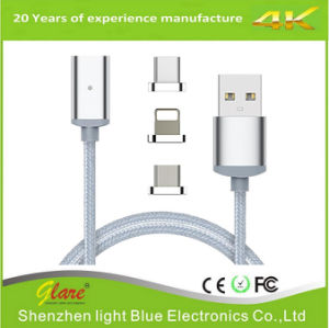 Nylon Braided Magnetic USB Cable pictures & photos