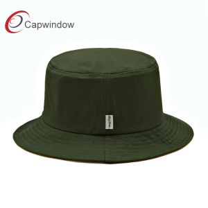 Capwindow Custom Leisure Cotton Fisher Bucket Hat with Embroidery pictures & photos
