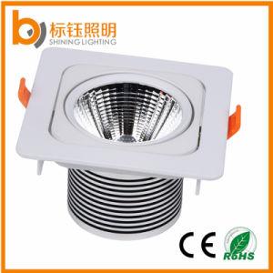 Aluminum Alloy Spot Light 10W High Power LED Square COB Downlight pictures & photos